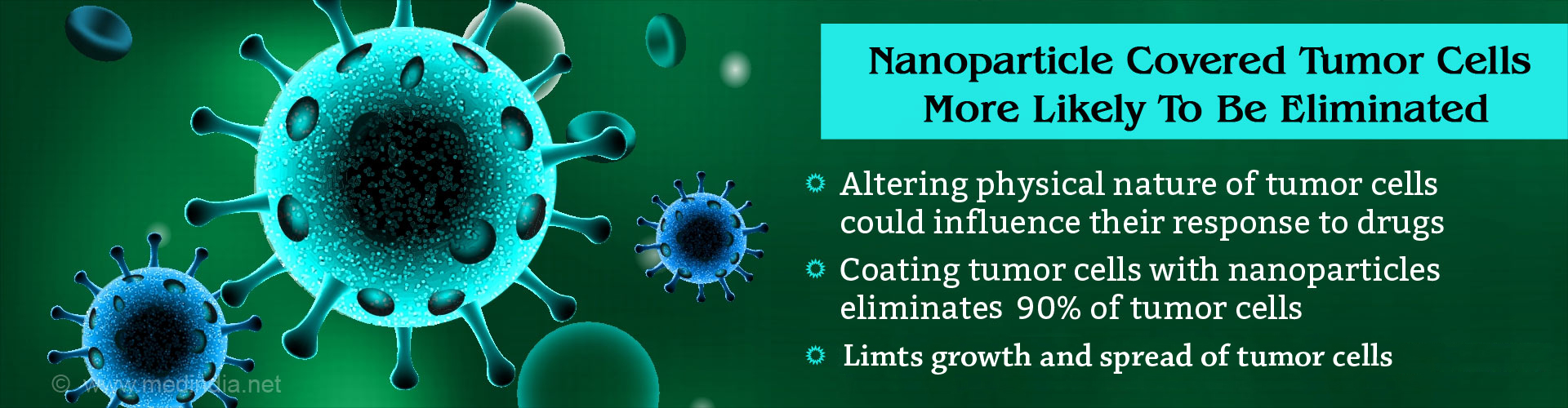 Nanoparticle Coated Tumor Cells More Likely To Be Eliminated