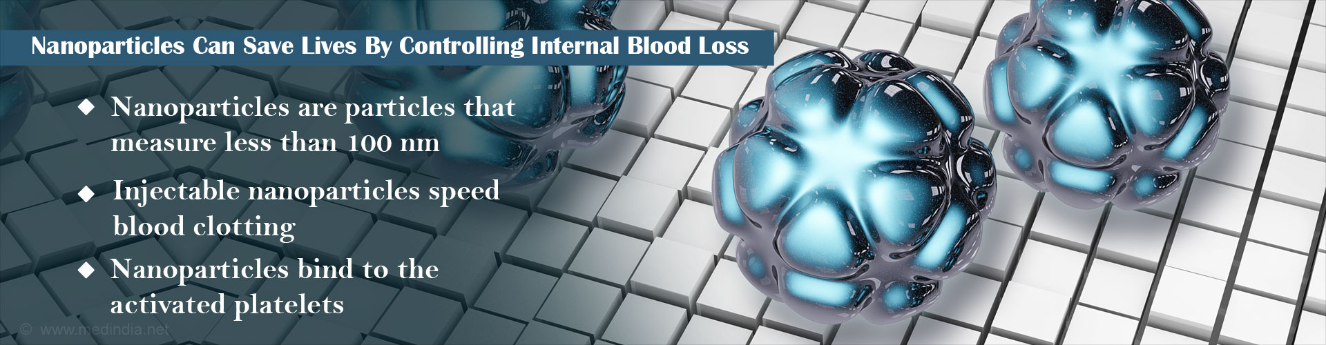 Nanoparticles Can Save Lives By Controlling Serious Blood Loss