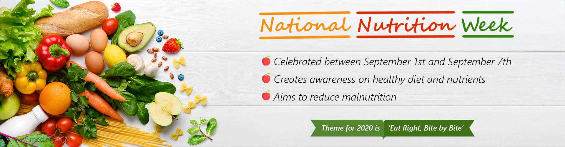 National Nutrition Week – 'Eat Right, Bite by Bite'