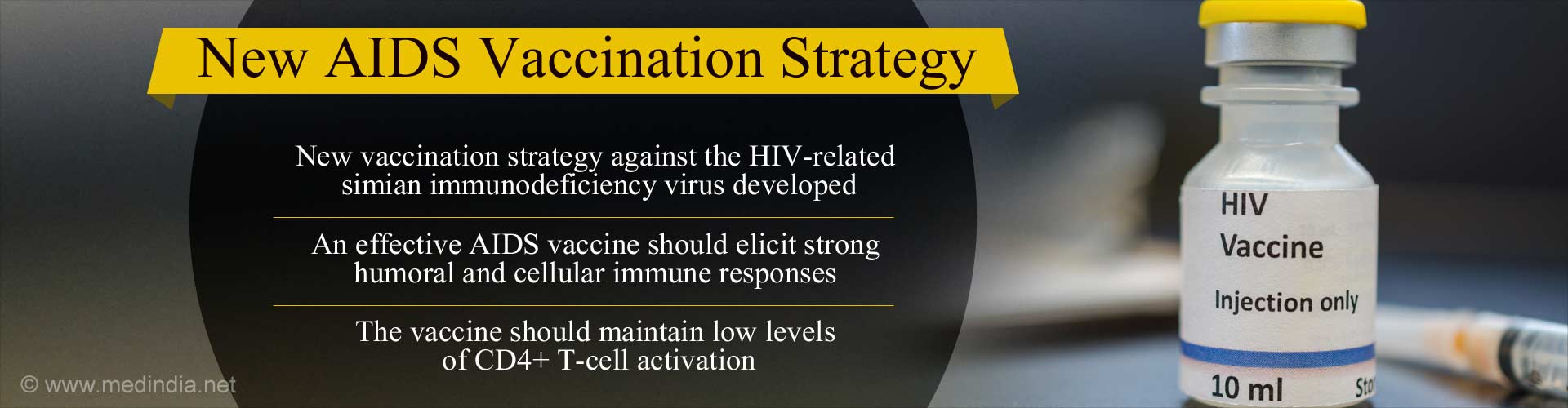 New Strategy for Vaccination Against AIDS