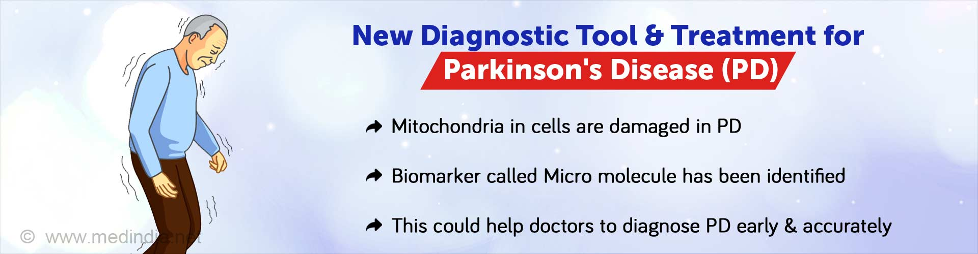 New Diagnostic Marker can Detect Parkinson''s Disease Early
