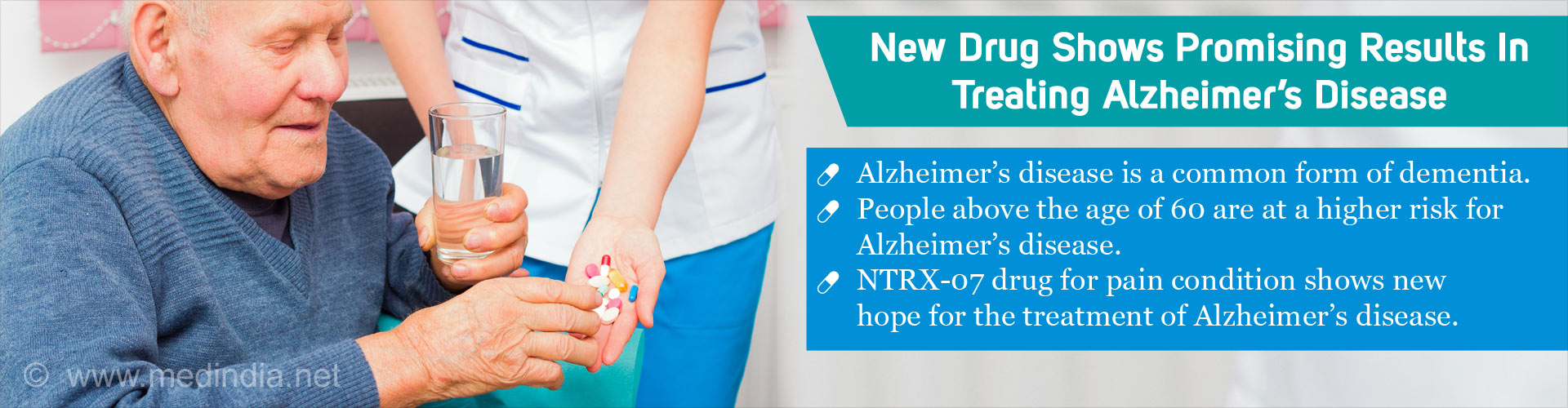 'NTRX -07' Drug for Pain Condition Shows New Hope in Treating Alzheimer's Disease