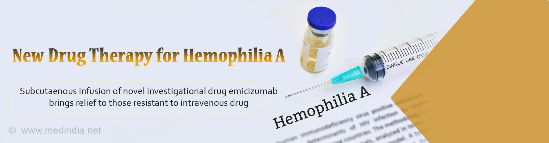 Novel Drug Brings New Hope for Hemophilia A