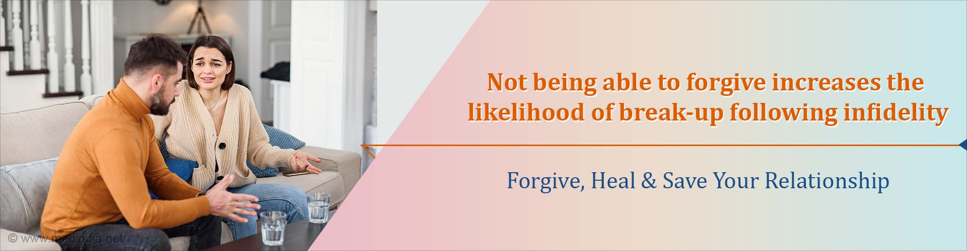 How Do Men and Women Forgive Infidelity?
