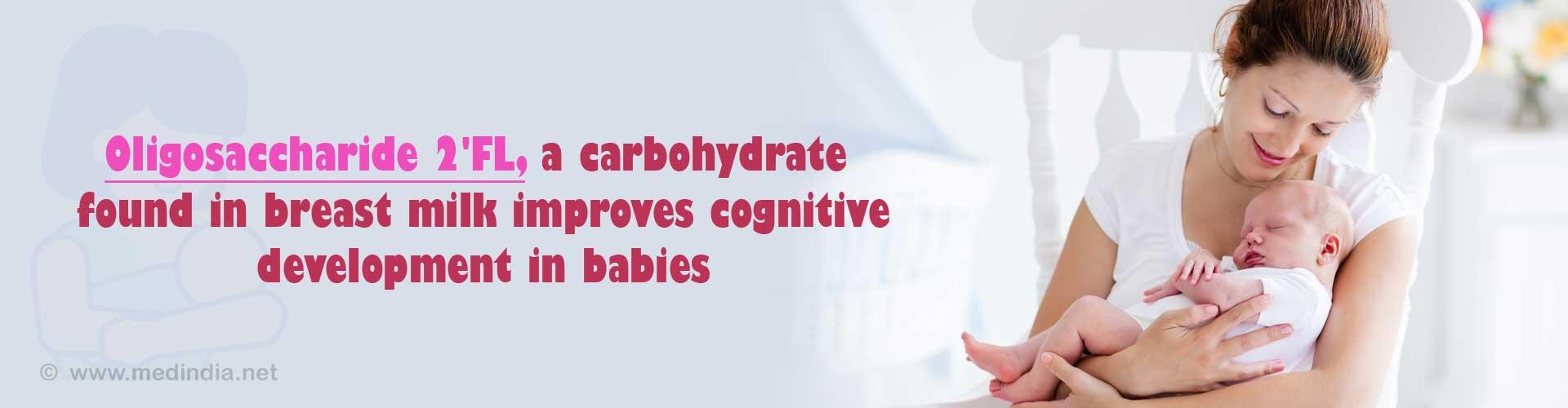 Breast Milk Improves Babies Cognitive Abilities