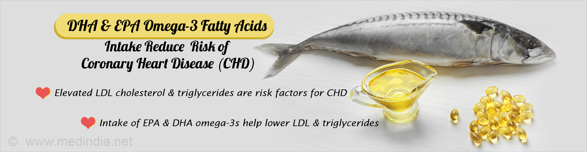 Omega-3 Fatty Acids can Lower the Risk of Coronary Heart Disease