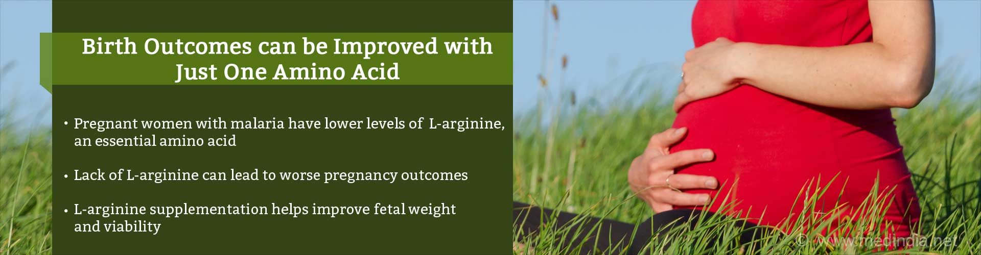 One Amino Acid can Improve Birth Outcomes