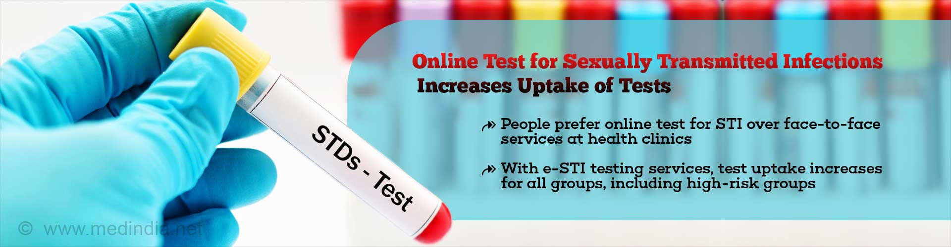 Online Test for Sexually Transmitted Infections Hikes Uptake