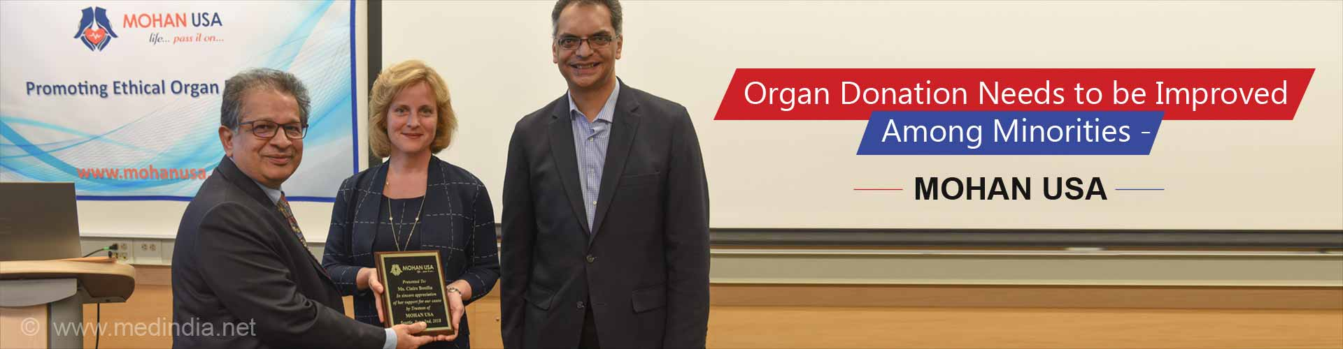 MOHAN USA and  American Society of Transplantation: Pioneering the Cause of Improving Organ Donation Rates Among Minorities