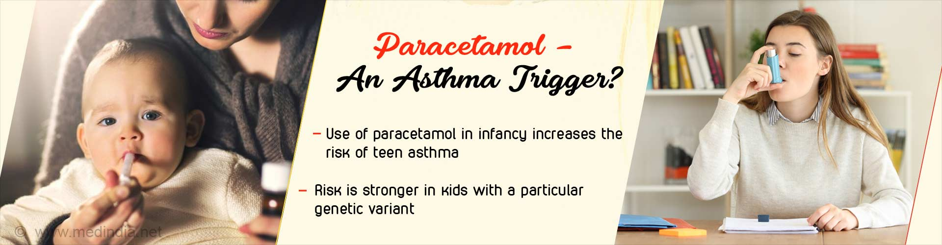 Asthma in Teenagers could be a Result of Paracetamol Use in Infancy