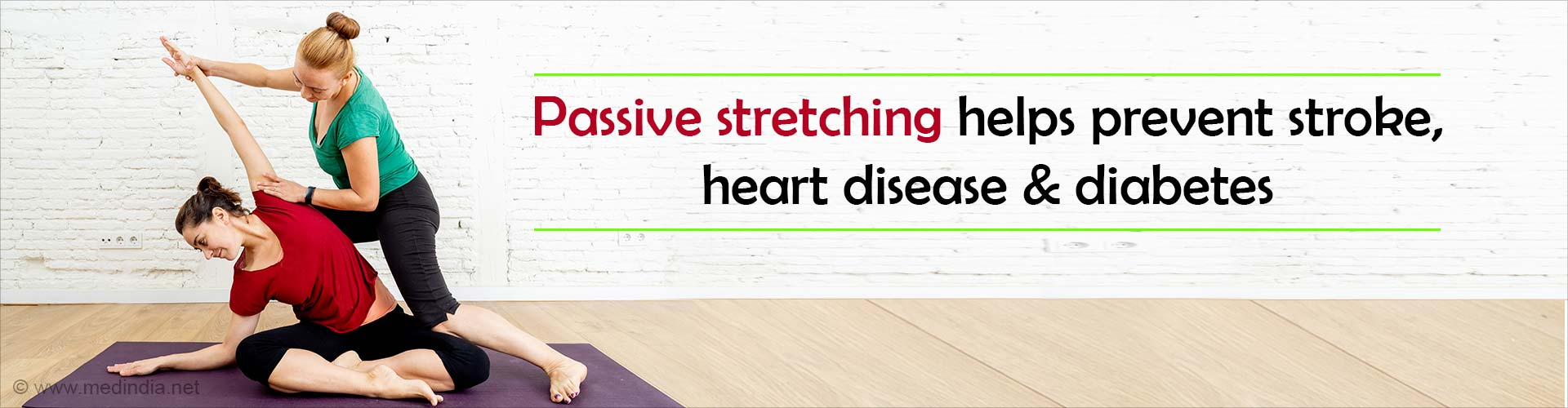 Stretch Your Legs to Keep Heart Disease at Bay
