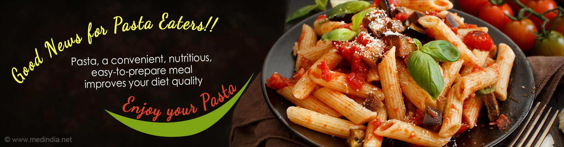 Pasta Consumption Improves Overall Quality of Diet