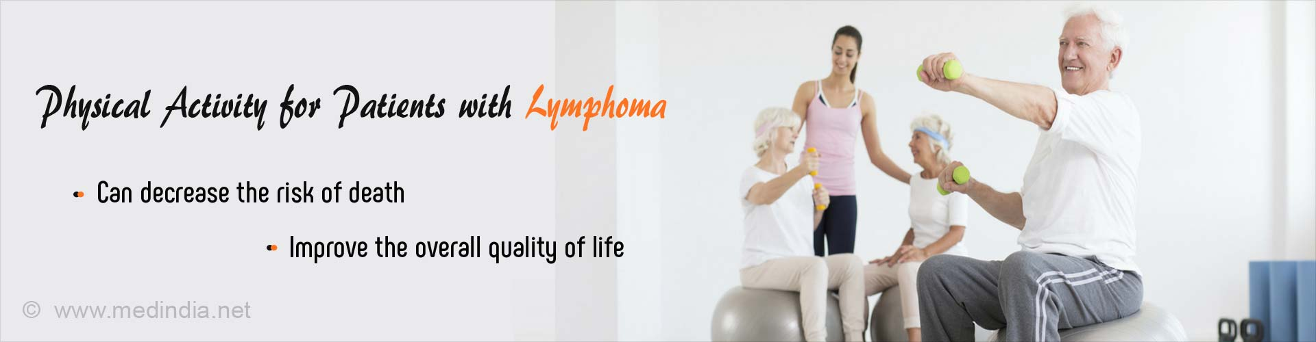 Physical Activity can Improve Lymphoma Patients Chances of Survival