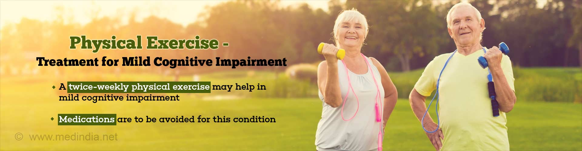 Physical Exercise to Improve Memory and Cognition