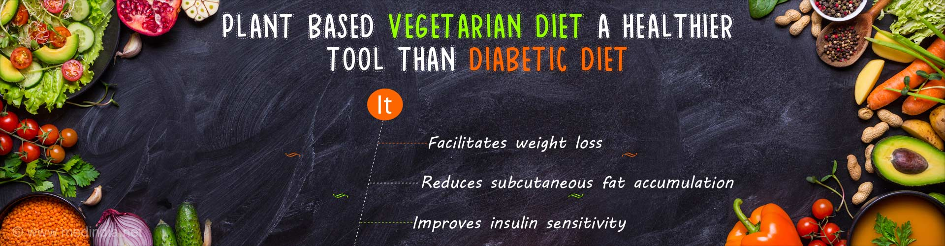 Does a Plant-Based Vegetarian Diet Reverse Diabetes, Aid in Weight Loss?