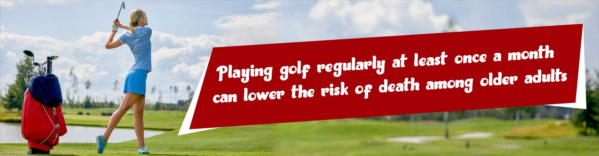 Golf for Elderly: Golfing Regularly can Add Years to Your Life