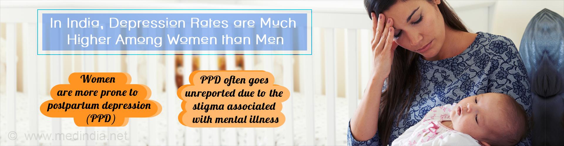 Postpartum Depression- A Major Concern Among Indian Women