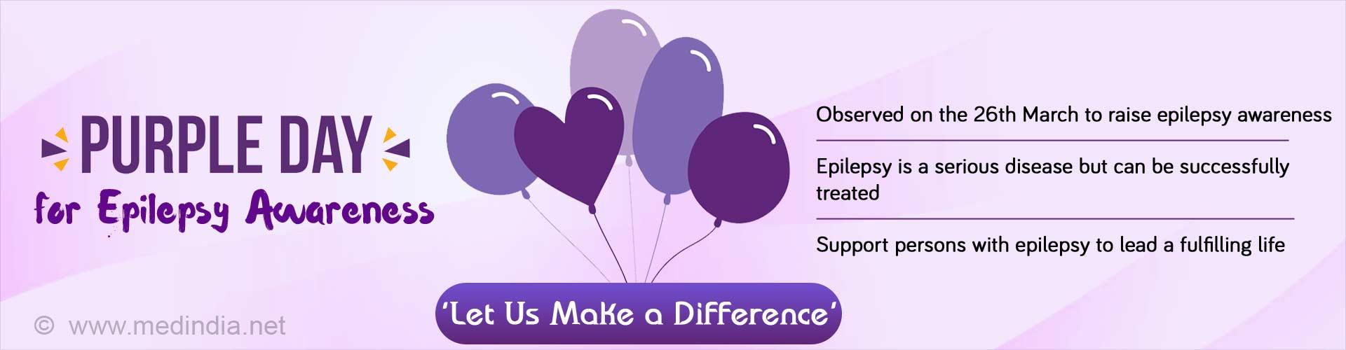 Purple Day – Get Involved in Raising Epilepsy Awareness