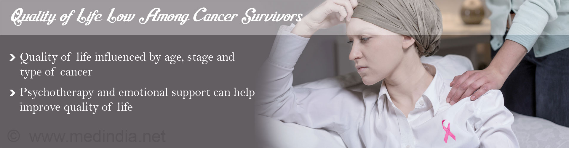 Cancer Survivors Experience Low Health-Related Quality of Life