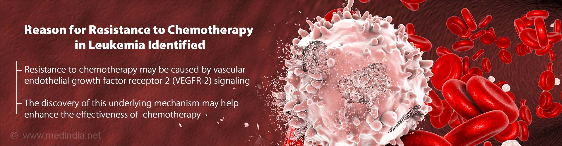 Reason for Resistance to Chemotherapy in Leukemia Identified