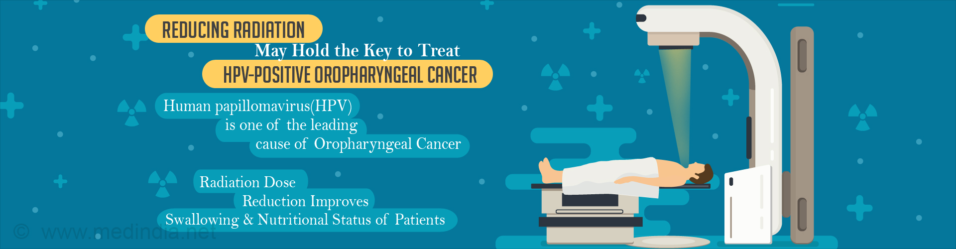 Radiation Dose Reduction may Help Treat HPV-Positive Oropharynx Cancer