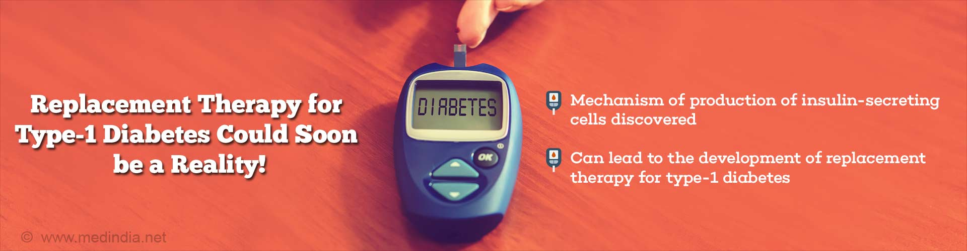 One Step Closer to Developing Replacement Therapy for Type-1 Diabetes
