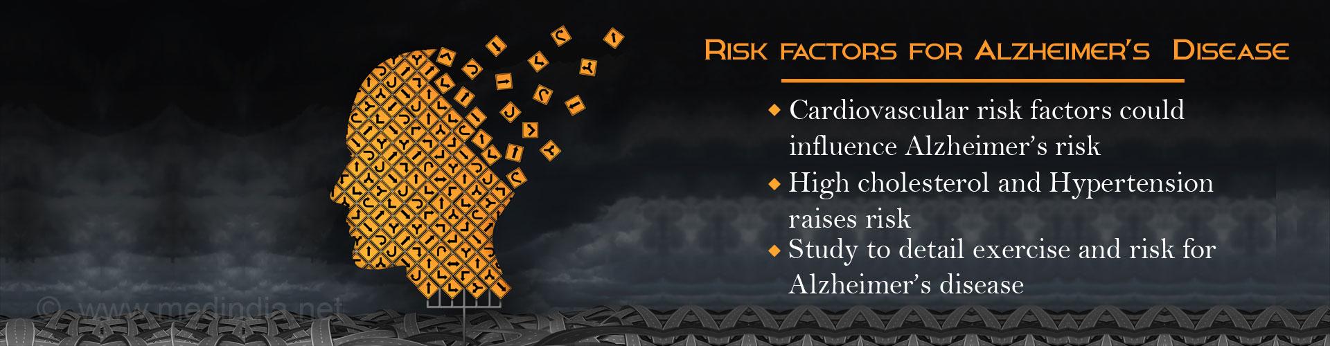 Cardiovascular Risk Reduction Studied in Alzheimer�s Disease Prevention