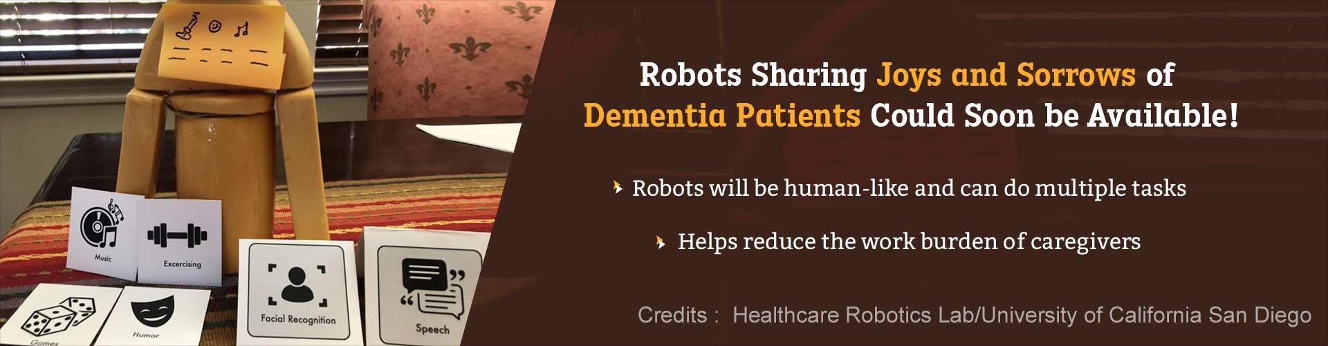 Robots Understand a Dementia Patient's Joy and Sorrow