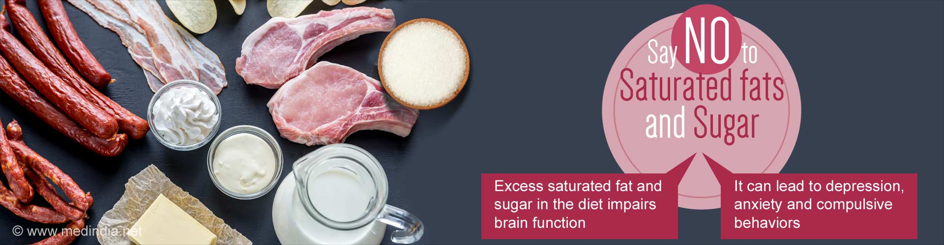 Too Much Saturated Fat and Sugar Not Good For the Brain