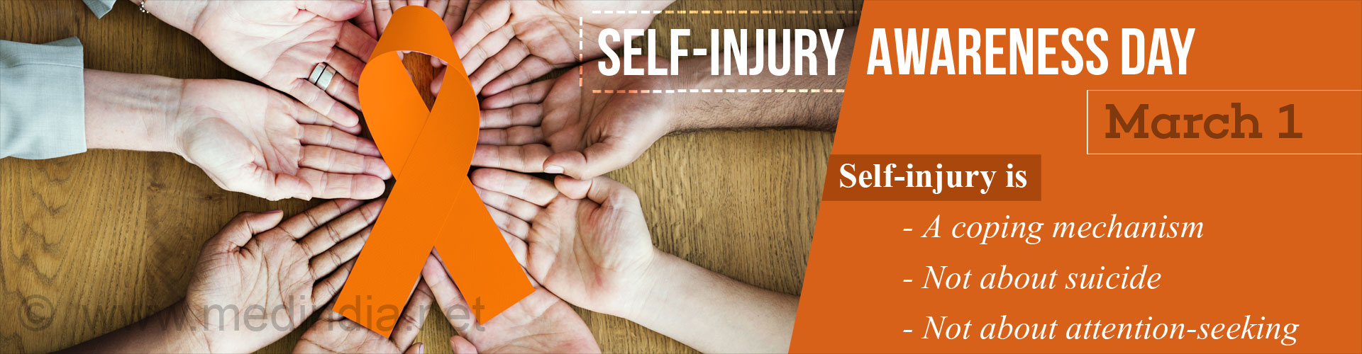 Self-Injury Awareness Day: March 1
