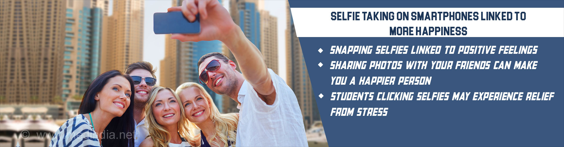 Selfie-taking on Smartphones Making People Happier
