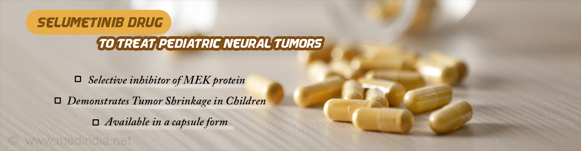 Selumetinib Drug Found to Shrink Pediatric Neural Tumors