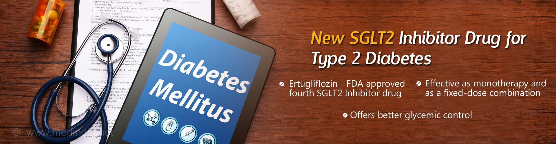 Ertugliflozin Approved By US FDA for Treating Type 2 Diabetes