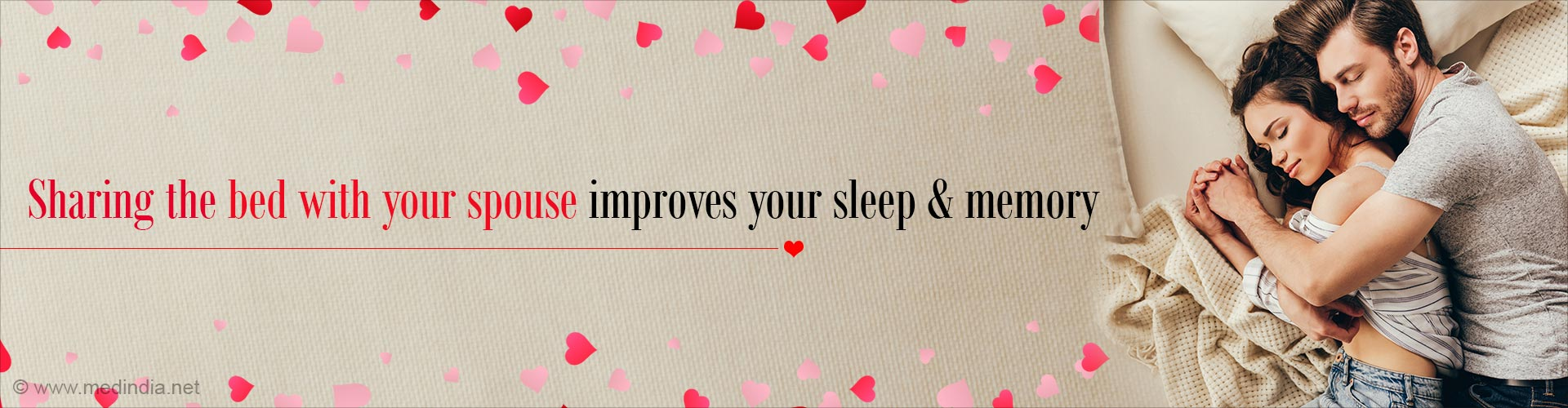 Couples Who Sleep Together Stay Healthy Together