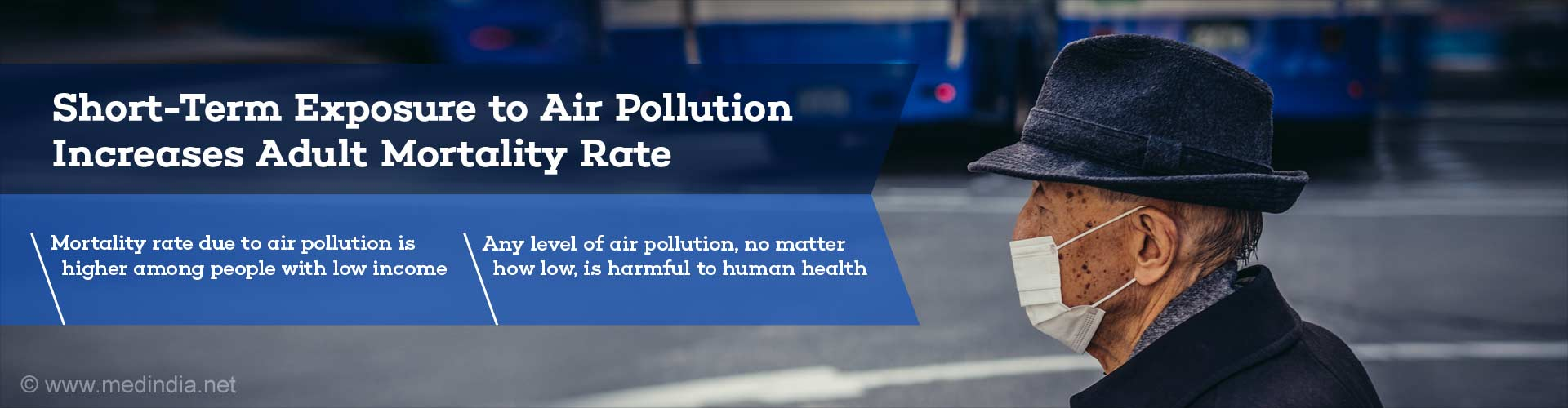 Air Pollution may Increase Mortality in Older Adults