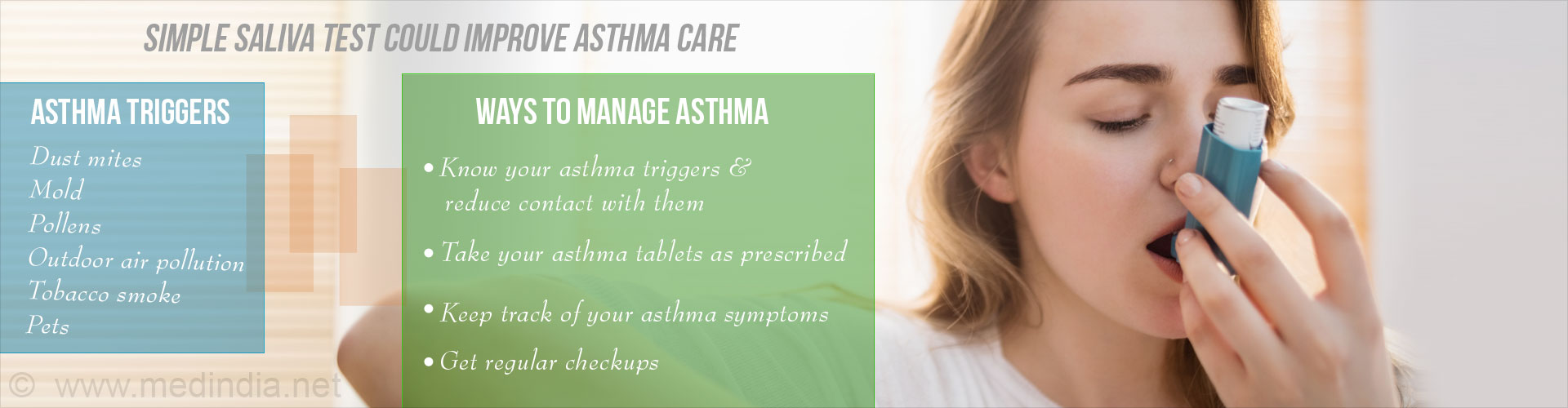 Simple Saliva Test To Diagnose Asthma