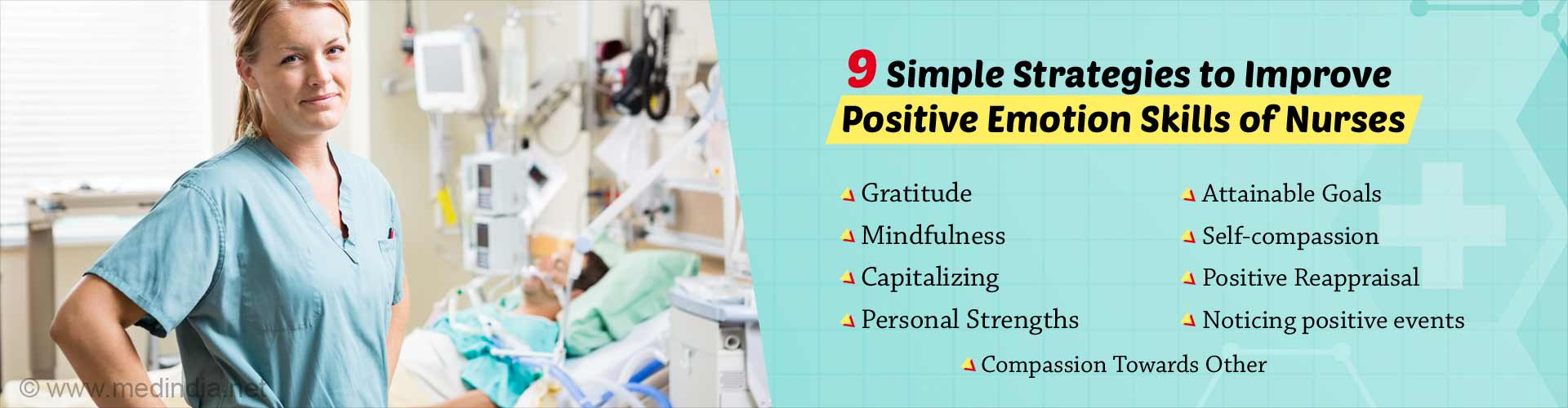 Increase Positive Emotion Skills of Nurses Using Simple Strategies