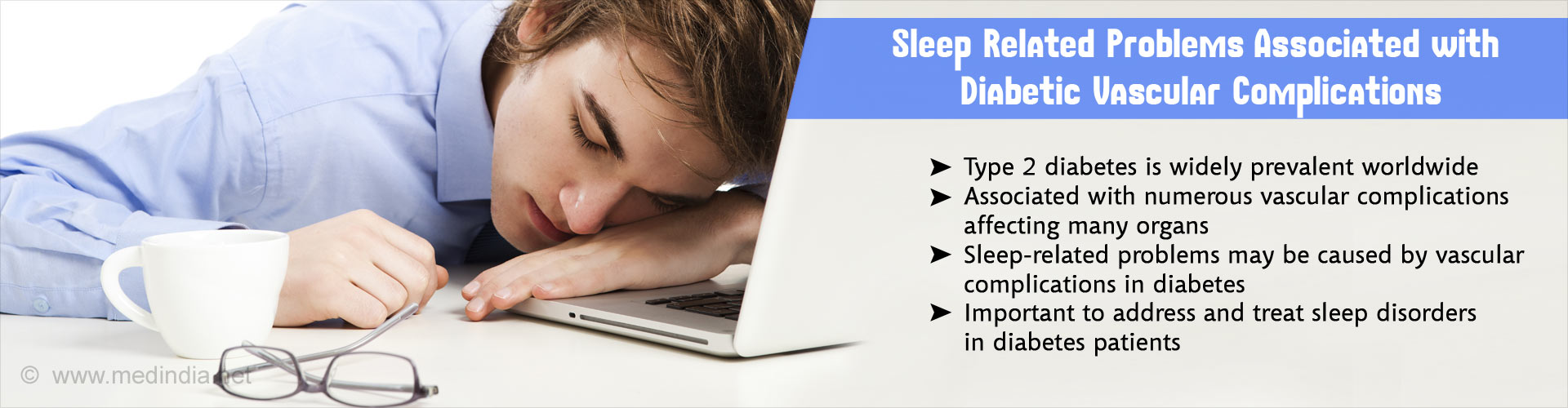 Vascular Complications in Diabetes Could Cause Sleep Problems