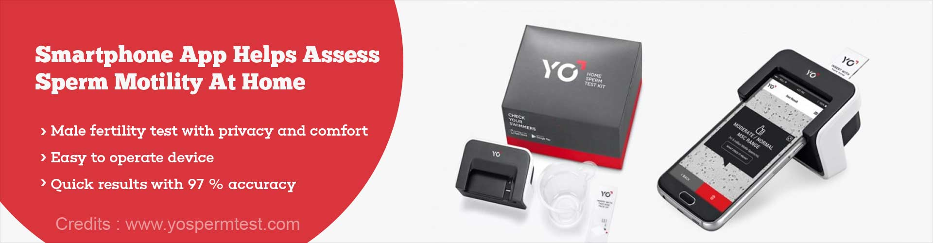 FDA Approved YO Home Sperm Test To Find Male Fertility Status