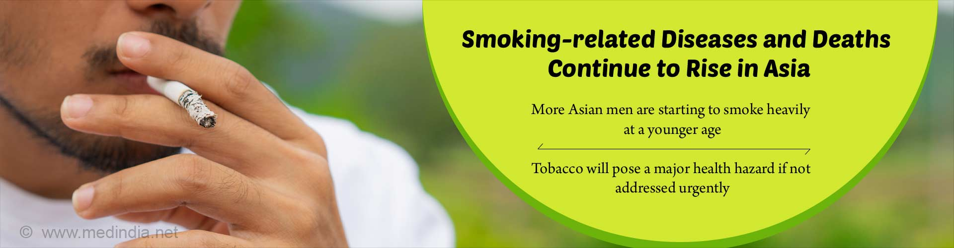 Tobacco Smoking – Major Public Health Threat in Asian Countries