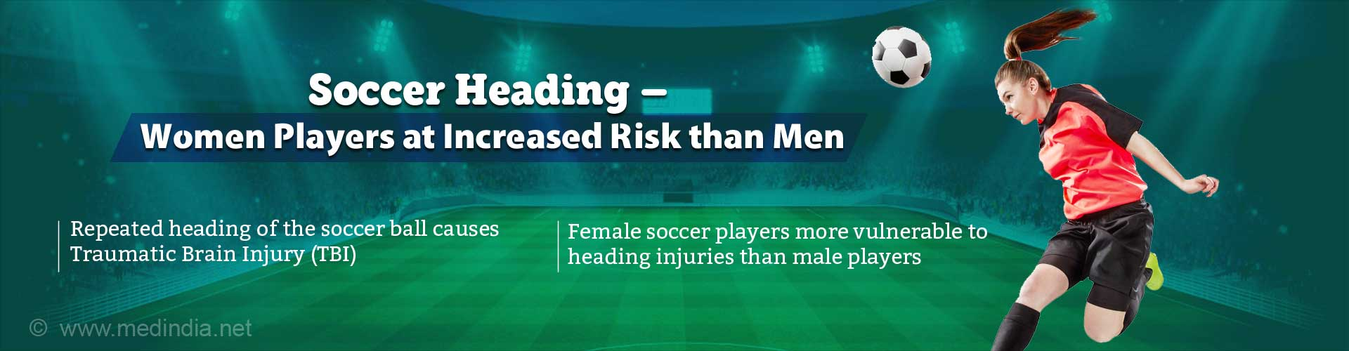 Soccer Heading Puts More Women at Risk for Brain Injury Than Men