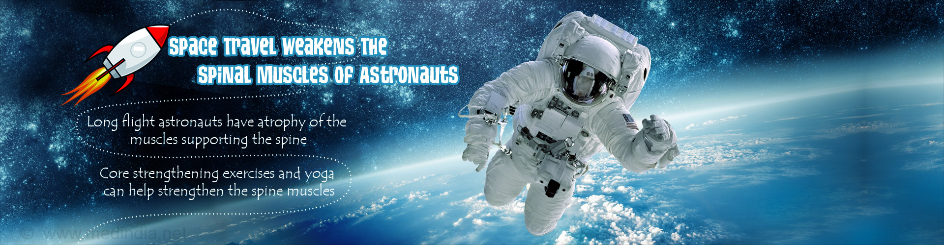 Long Duration In Spaceflights Affects The Spine Of Astronauts - NASA Study