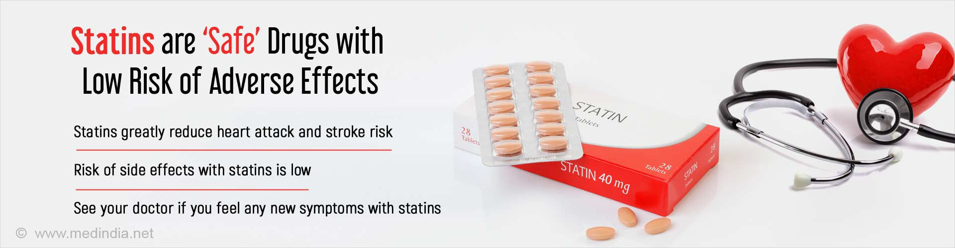 Benefits of Taking Statins Outweigh Risks