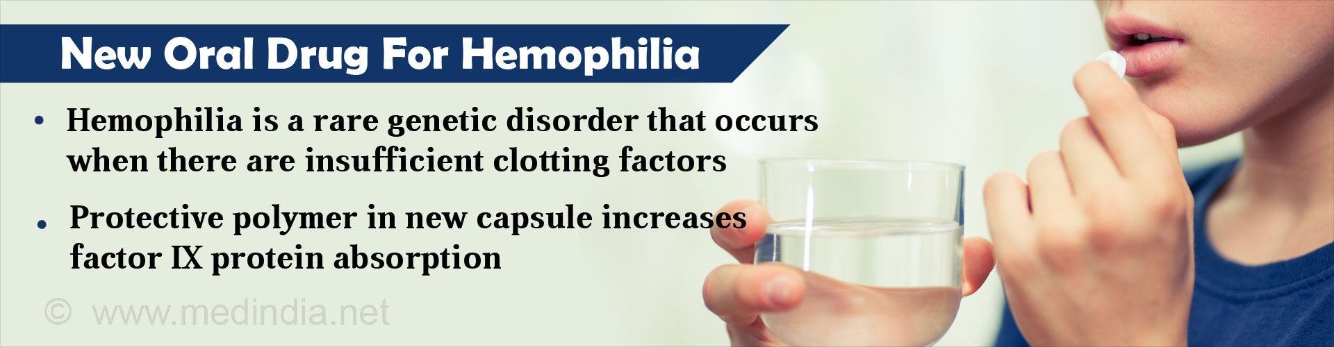 Oral Pill Shows New Hope For Hemophilia Treatment