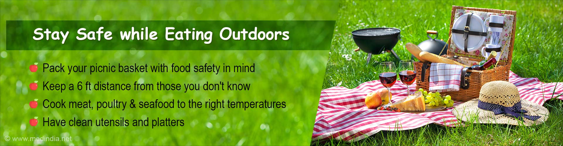 How to Stay Safe While Eating Outdoors During COVID-19