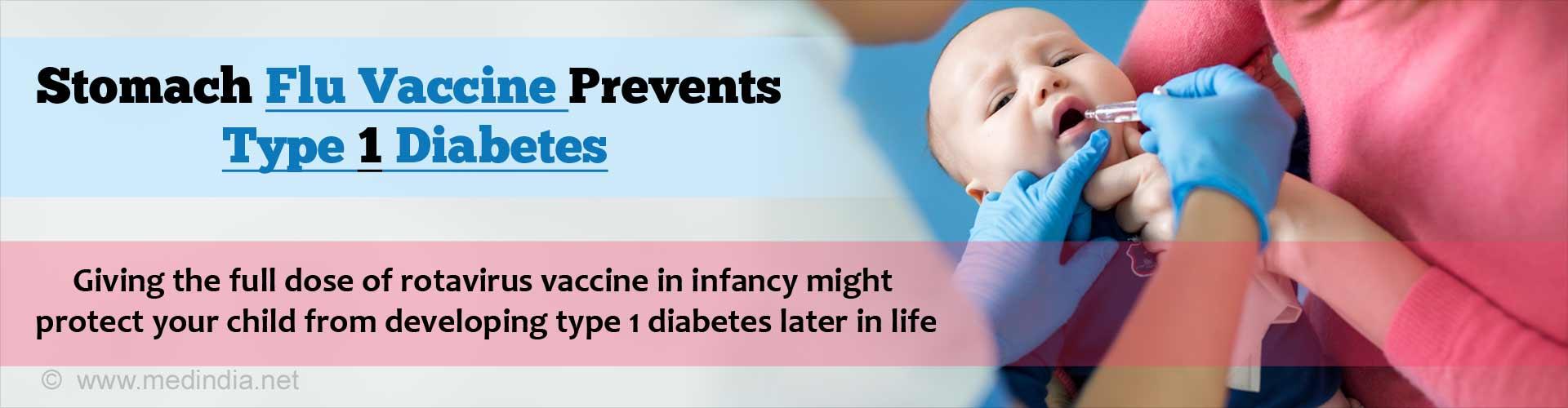 Rotavirus Vaccine May Protect Children Against Type 1 Diabetes