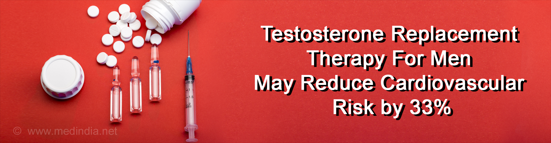 Testosterone Replacement Therapy in Men May Lower Cardiovascular Risk