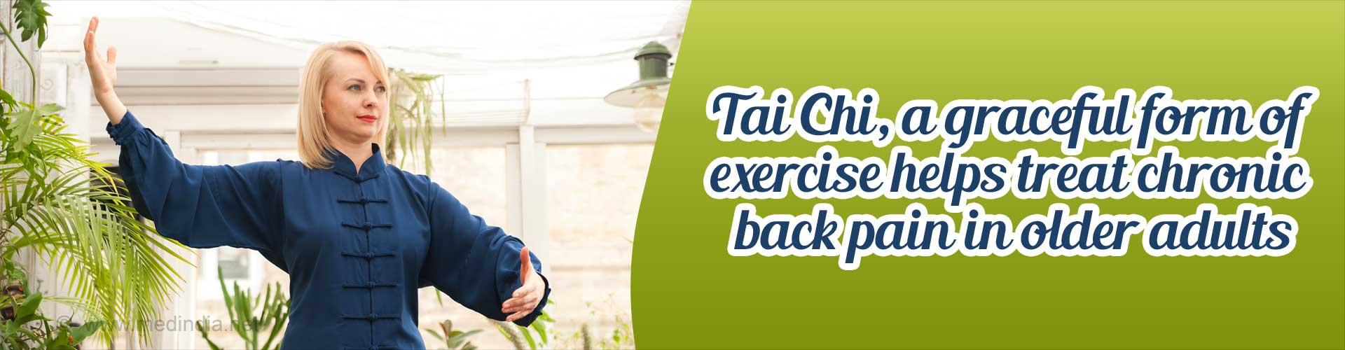 T'ai Chi can Treat Chronic Low Back Pain in Older Adults