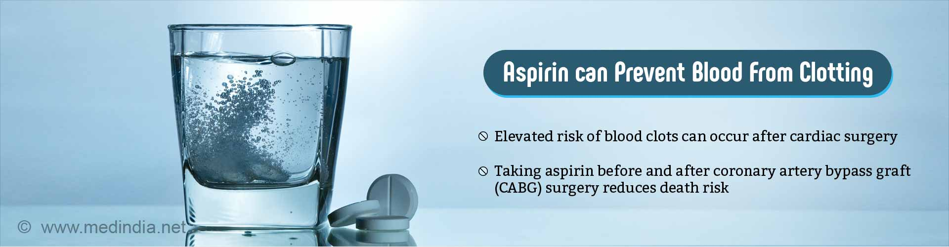 Taking Aspirin Before and After Coronary Artery Bypass may Enhance Survival