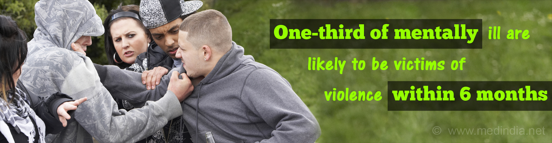 Risk of Violence Higher Among the Mentally Ill